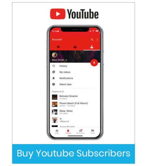 Buy Youtube Subscriber